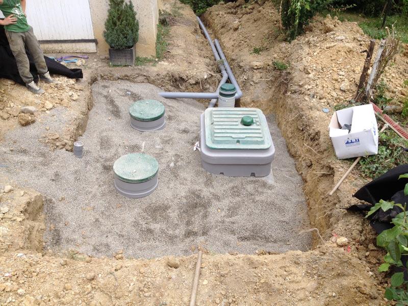 Piraux terrassement : travaux d'assainissement près de Auch