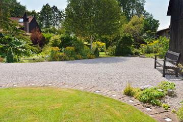 Terrassement jardin pour la construction de maison individuelle